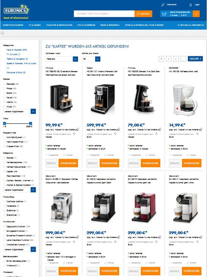 tipp diese shops bieten kaffeevollautomaten auf rechnung. Black Bedroom Furniture Sets. Home Design Ideas