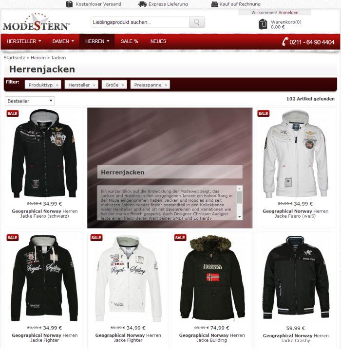 ▷ Wo Jacken auf Rechnung online kaufen & bestellen?