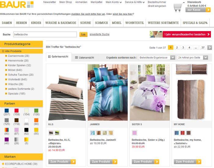▷ Wo Bettwäsche auf Rechnung online kaufen & bestellen?