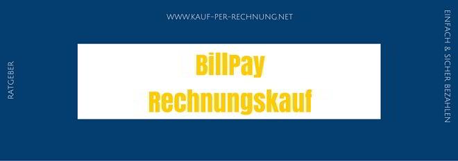 BillPay Rechnungskauf