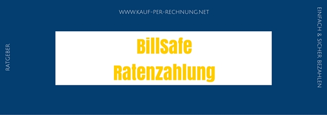 BillSafe Ratenzahlung