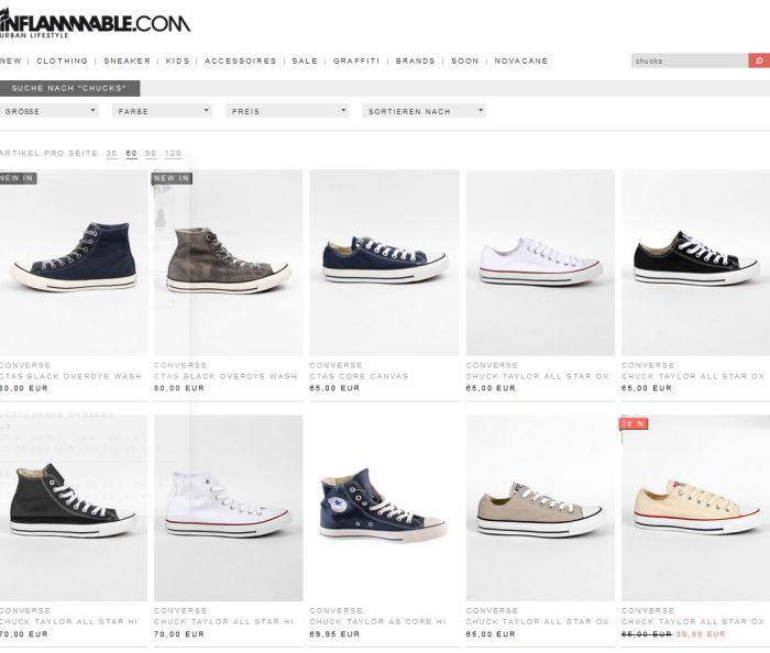 Converse Onlineshop | Online auf Rechnung kaufen bei I'm walking