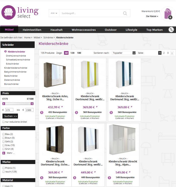 tipp kleiderschrank auf rechnung bestellen so geht 39 s. Black Bedroom Furniture Sets. Home Design Ideas