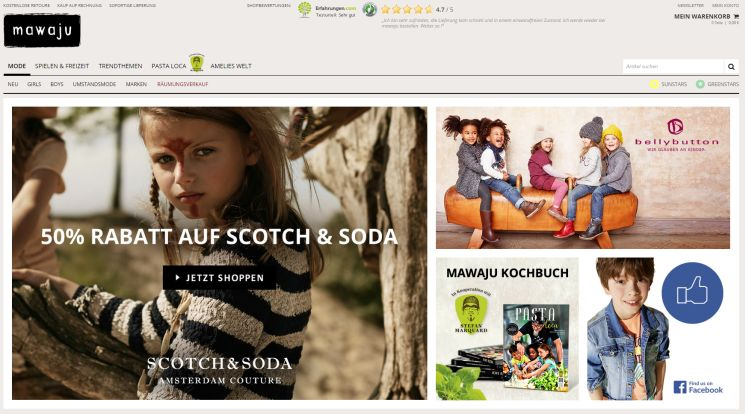 new product e585a e5199 ▷ Wo Kinderkleidung auf Rechnung online kaufen & bestellen?