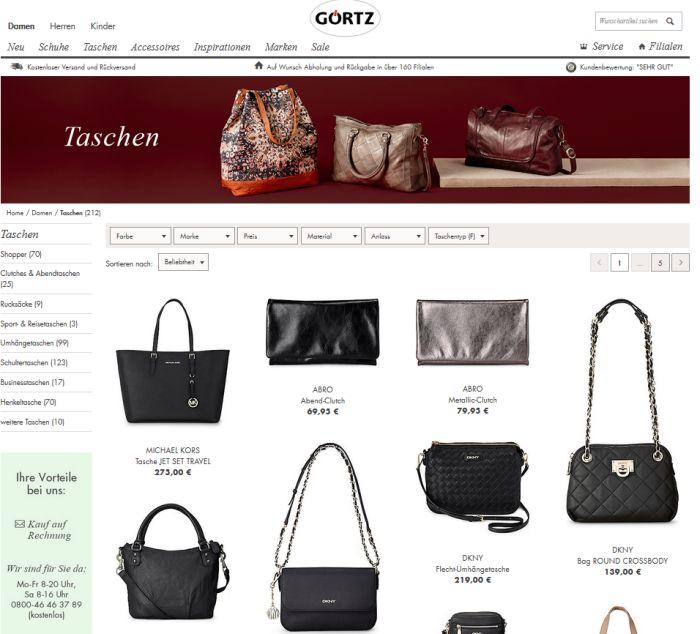 Michael Kors Schuhe & Taschen online bestellen auf