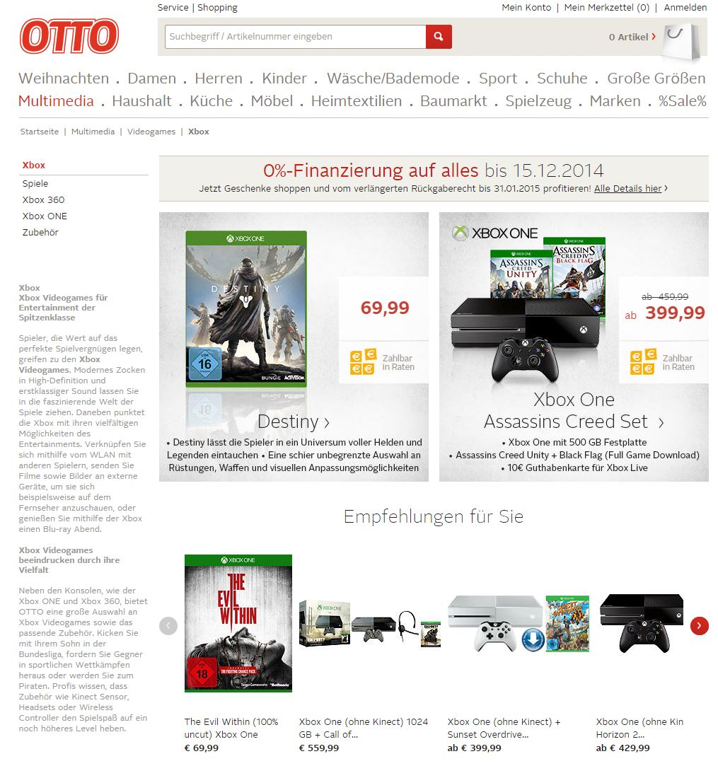 wo xbox one auf rechnung online kaufen bestellen. Black Bedroom Furniture Sets. Home Design Ideas